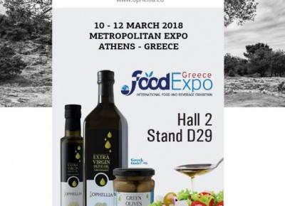 FoodExpo Athens 2018 - Hall 2 Stand D29